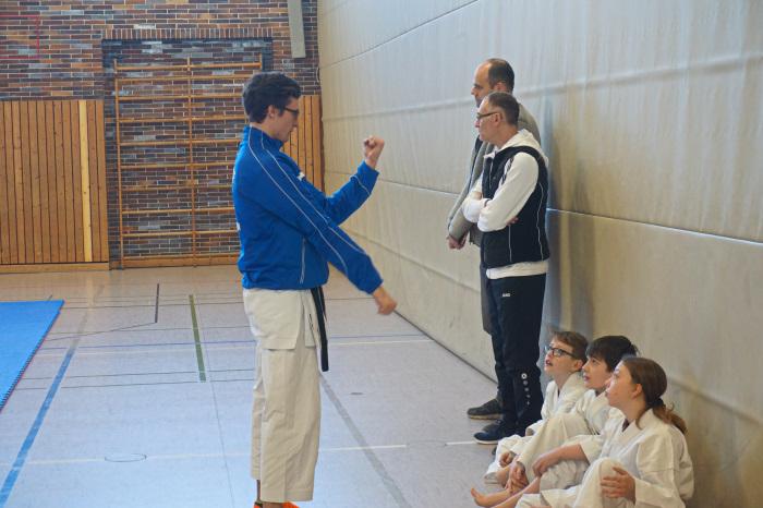 Bezirkskaderlehrgang mit Weiterbildung für Kampfrichter in Trostberg / 01.03.2020